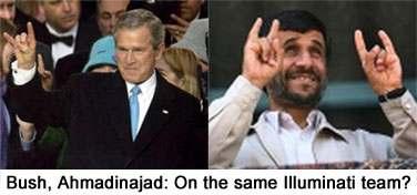Bush-Ahmadinejad