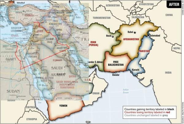 Israel Raya dan Balkanisasi Arab