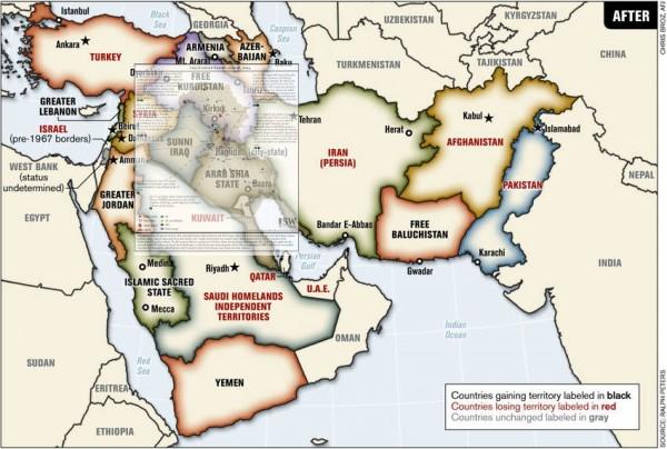 Pergerakan ISIS dan Rencana Yinon