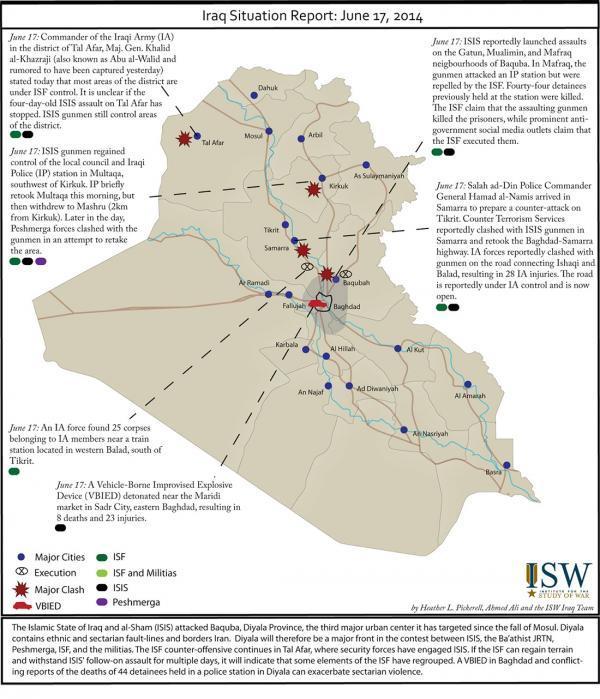Peta Pergerakan ISIS