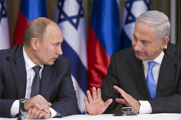 Vladimir Putin dan Benjamin Netanyahu