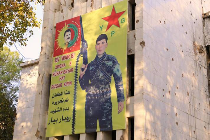 Reklame Pejuang Kurdi-