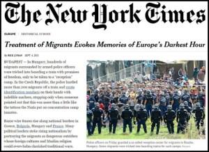 New York Times - Perlakuan imigran