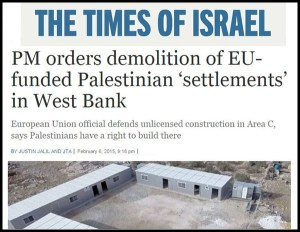 Times of Israel - Demolish