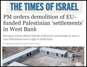 Times of Israel - Demolish