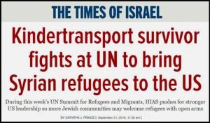 Times of Israel - HIAS