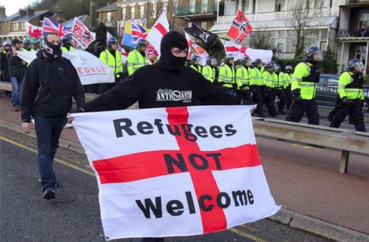 Demo anti-pengungsi