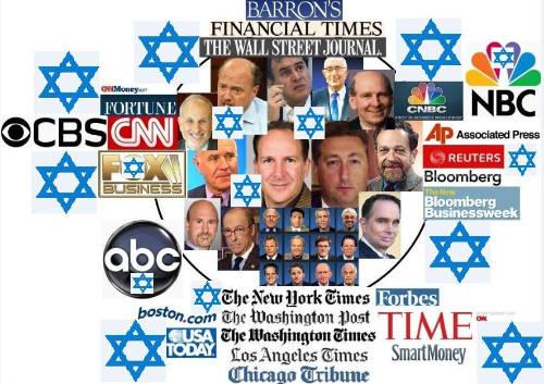 Kendali Yahudi Atas Media