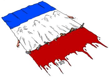 Penghormatan Untuk Korban Penembakan Paris November 2015