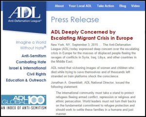 ADL - Krisis Migran