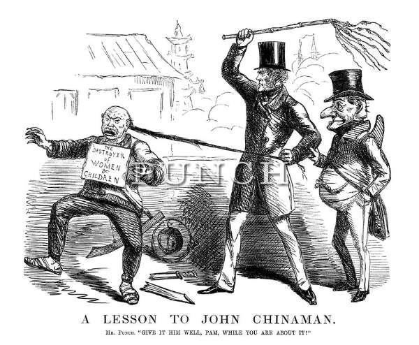 Kartun John Leech (Punch)
