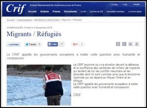 CRIF - Pengungsi