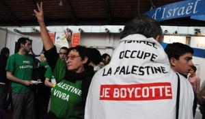 Aktivis Prancis BDS