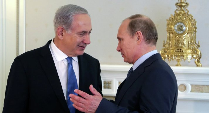 Netanyahu dan Putin (Sputnik News)